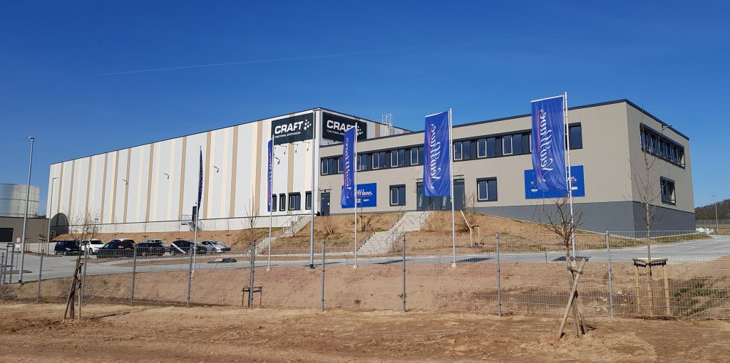 Logistikzentrum von New Wave Germany