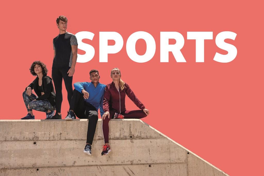 Sporttextilien von Roly
