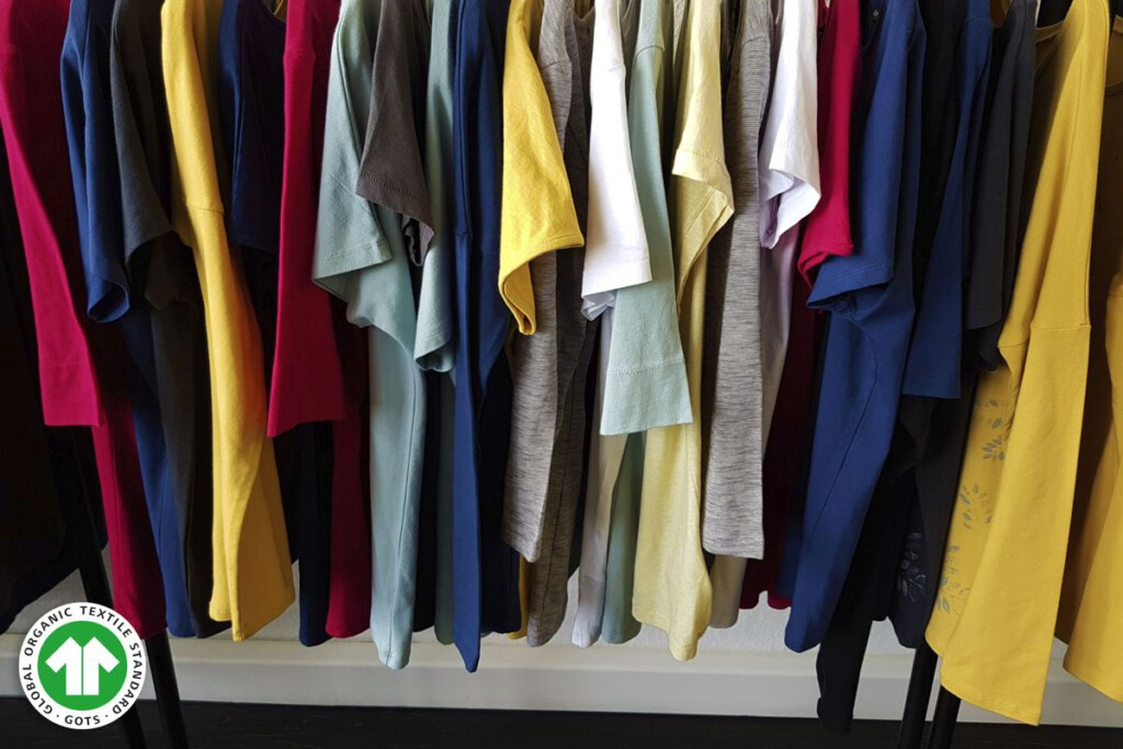 GOTS-zertifizierte Textilien