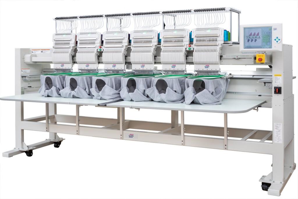 Tajima-Stickmaschine im Vertrieb von Mountek
