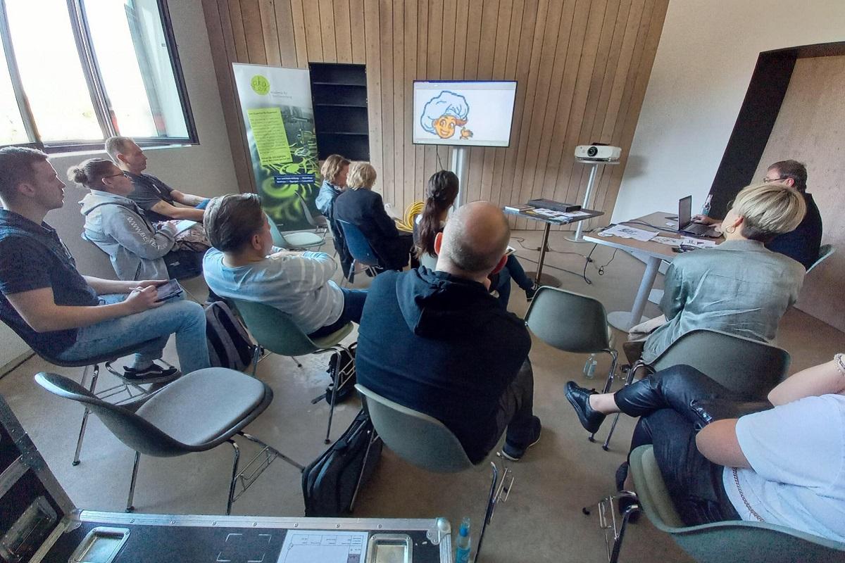 Detlef Schimmel im Workshop