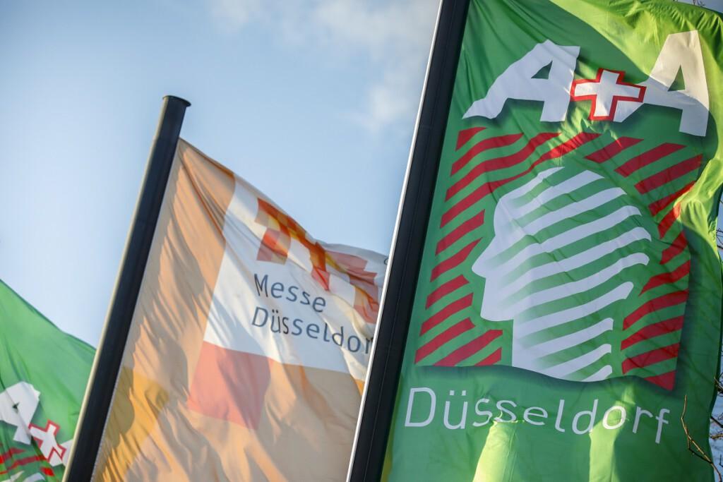 Die Fachmesse A+A in Düsseldorf