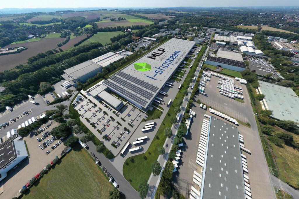 Das neue Logistikzentrum von L-Shop-Team in Unna